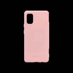 Samsung Galaxy A41 - Gumiran ovitek (TPU) - roza M-Type