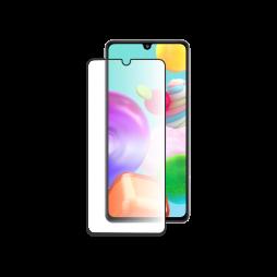 Samsung Galaxy A41 - Zaščitno steklo Premium - črno do roba (0,30)