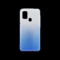 Samsung Galaxy A21s - Gumiran ovitek (TPUB) - modra