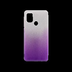 Samsung Galaxy A21s - Gumiran ovitek (TPUB) - vijolična