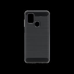 Samsung Galaxy A21s - Gumiran ovitek (TPU) - črn A-Type
