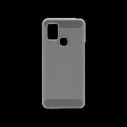 Samsung Galaxy A21s - Gumiran ovitek (TPU) - siv A-Type