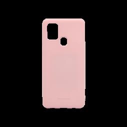 Samsung Galaxy A21s - Gumiran ovitek (TPU) - roza M-Type