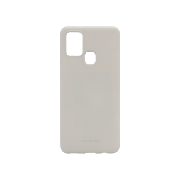 Samsung Galaxy A21s - Gumiran ovitek (TPU) - siv M-Type