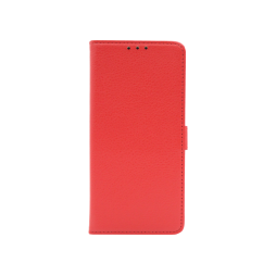 Realme 6 - Preklopna torbica (WLG) - rdeča