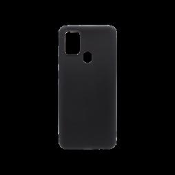 Samsung Galaxy A21s - Gumiran ovitek (TPU) - črn MATT