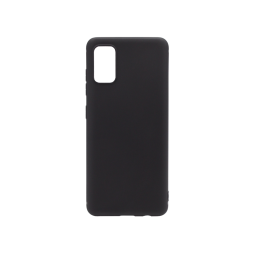 Samsung Galaxy A41 - Gumiran ovitek (TPU) - črn MATT