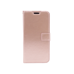 Samsung Galaxy A41 - Preklopna torbica (WLC) - roza-zlata