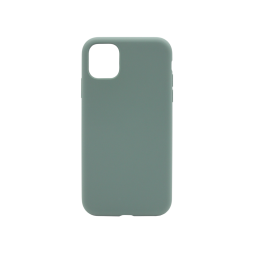 Apple iPhone 11 - Silikonski ovitek (liquid silicone) - Soft - Dark Green