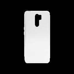 Xiaomi Redmi 9 - Gumiran ovitek (TPU) - prosojen svetleč
