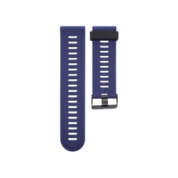 Silikonski pašček Garmin Fenix 3 / 3 HR (26mm) - temno moder