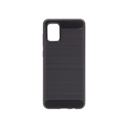 Samsung Galaxy A31 - Gumiran ovitek (TPU) - črn A-Type
