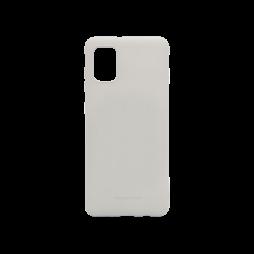 Samsung Galaxy A31 - Gumiran ovitek (TPU) - siv M-Type