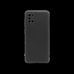 Samsung Galaxy A31 - Gumiran ovitek (TPU) - črn MATT