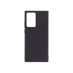 Samsung Galaxy Note 20 Ultra/ Note 20 Ultra 5G - Gumiran ovitek (TPU) - črn MATT