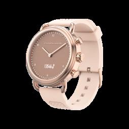 Hibridna pametna ura W14A - roza-zlata