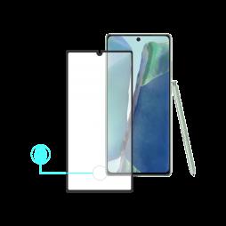 Samsung Galaxy Note 20 - Zaščitno steklo Premium - case friendly, črno (0,30)