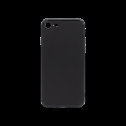 Apple iPhone SE (2020)/8/7 - Gumiran ovitek (TPU) - črn MATT