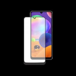 Samsung Galaxy A31 - Zaščitno steklo Premium - case friendly, črno (0,30)
