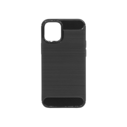 Apple iPhone 12 mini - Gumiran ovitek (TPU) - črn A-Type