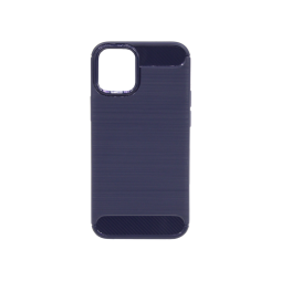 Apple iPhone 12 mini - Gumiran ovitek (TPU) - moder A-Type