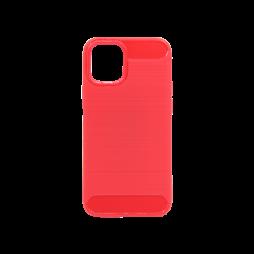 Apple iPhone 12 mini - Gumiran ovitek (TPU) - rdeč A-Type