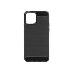 Apple iPhone 12/ 12 Pro - Gumiran ovitek (TPU) - črn A-Type