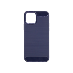 Apple iPhone 12/ 12 Pro - Gumiran ovitek (TPU) - moder A-Type