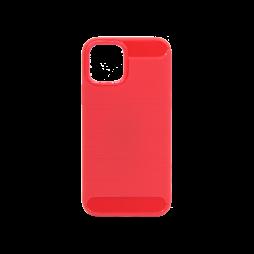 Apple iPhone 12/ 12 Pro - Gumiran ovitek (TPU) - rdeč A-Type
