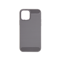 Apple iPhone 12/ 12 Pro - Gumiran ovitek (TPU) - siv A-Type