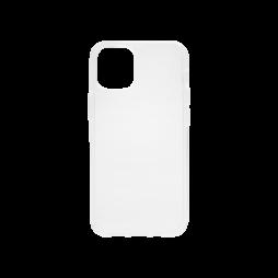 Apple iPhone 12 mini - Gumiran ovitek (TPU) - prosojen svetleč