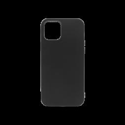 Apple iPhone 12/ 12 Pro - Gumiran ovitek (TPU) - črn MATT