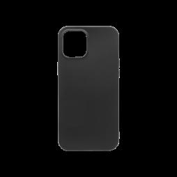 Apple iPhone 12 Pro Max - Gumiran ovitek (TPU) - črn MATT