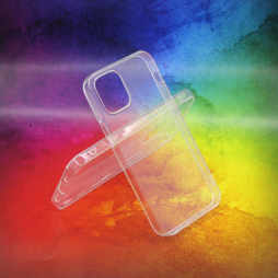 Apple iPhone 12 mini - Gumiran ovitek (TPUA) - prosojen