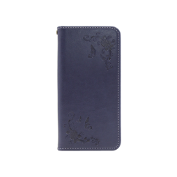 Samsung Galaxy A41 - Preklopna torbica (WLGO) - modra