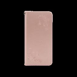 Samsung Galaxy A41 - Preklopna torbica (WLGO) - roza-zlata