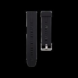 Silikonski pašček (22mm) - črn