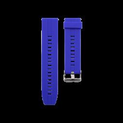 Silikonski pašček (22mm) - modra