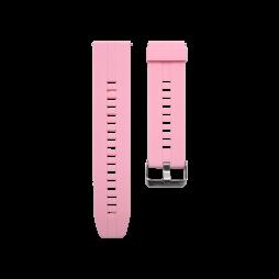 Silikonski pašček (22mm) - roza
