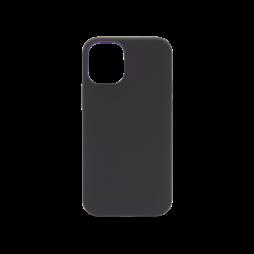 Apple iPhone 12 mini - Silikonski ovitek (liquid silicone) - Soft - Black