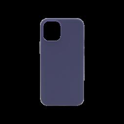 Apple iPhone 12 mini - Silikonski ovitek (liquid silicone) - Soft - Midnight Blue