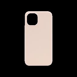 Apple iPhone 12 mini - Silikonski ovitek (liquid silicone) - Soft - Pink Sand