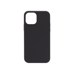 Apple iPhone 12/ 12 Pro - Silikonski ovitek (liquid silicone) - Soft - Black