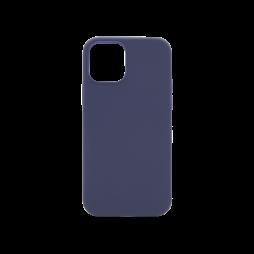 Apple iPhone 12/ 12 Pro - Silikonski ovitek (liquid silicone) - Soft - Midnight Blue
