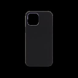 Apple iPhone 12 Pro Max - Silikonski ovitek (liquid silicone) - Soft - Black