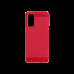 Samsung Galaxy S20 FE - Gumiran ovitek (TPU) - rdeč A-Type
