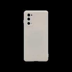 Samsung Galaxy S20 FE - Gumiran ovitek (TPU) - siv M-Type