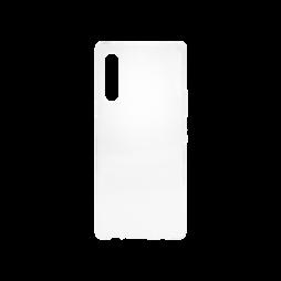 LG Velvet - Gumiran ovitek (TPU) - prosojen svetleč