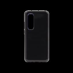 Xiaomi Mi Note 10 Lite - Gumiran ovitek (TPU) - črn svetleč