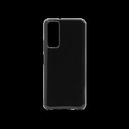 Huawei P Smart (2021) - Gumiran ovitek (TPU) - črn svetleč